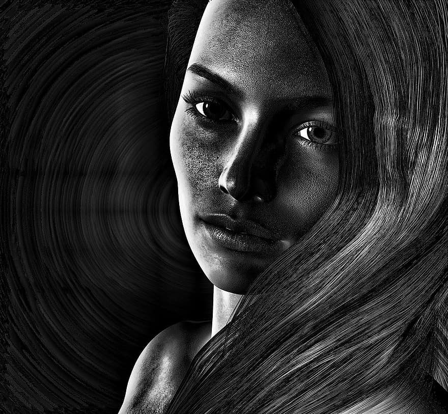 girl-woman-psychology-abuse-home-violent-monochrome-feelings-soul